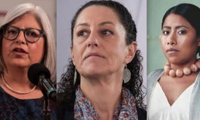 Las 100, Mujeres, Poderosas, México, Forbes, Claudia Sheinbaum, Márquez Colín, Yalitza, Aparicio,