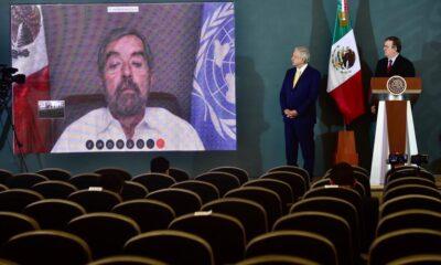 """Lugar en Consejo de Seguridad de la ONU es """"reconocimiento al gobierno de AMLO"""": Ebrard"""