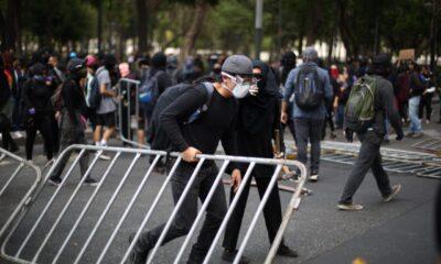 Deviene vandalismo y saqueos marcha en CDMX contra brutalidad policiaca
