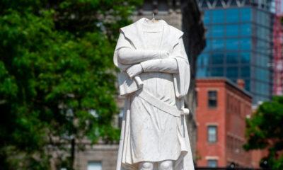 Figuras históricas son reevaluadas tras el caso de George Floyd