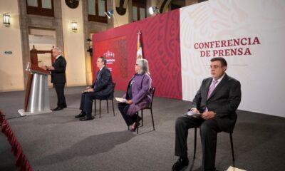AMLO y gabinete celebran entrada en vigor del T-MEC previo a visita a Washington