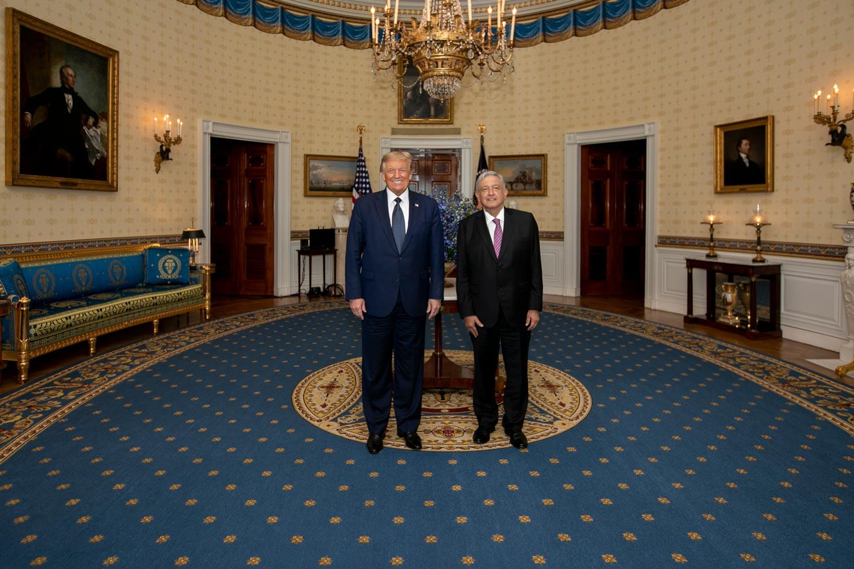 Visita de AMLO a EU sirvió para la campaña de Trump, asegura Belaunzarán