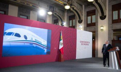 Con avión presidencial en México, sigue proceso de venta con dos interesados: AMLO