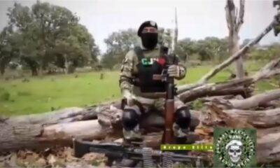"""CJNG publica segundo video; se deslinda del gobierno y amenaza a """"El Marro"""""""