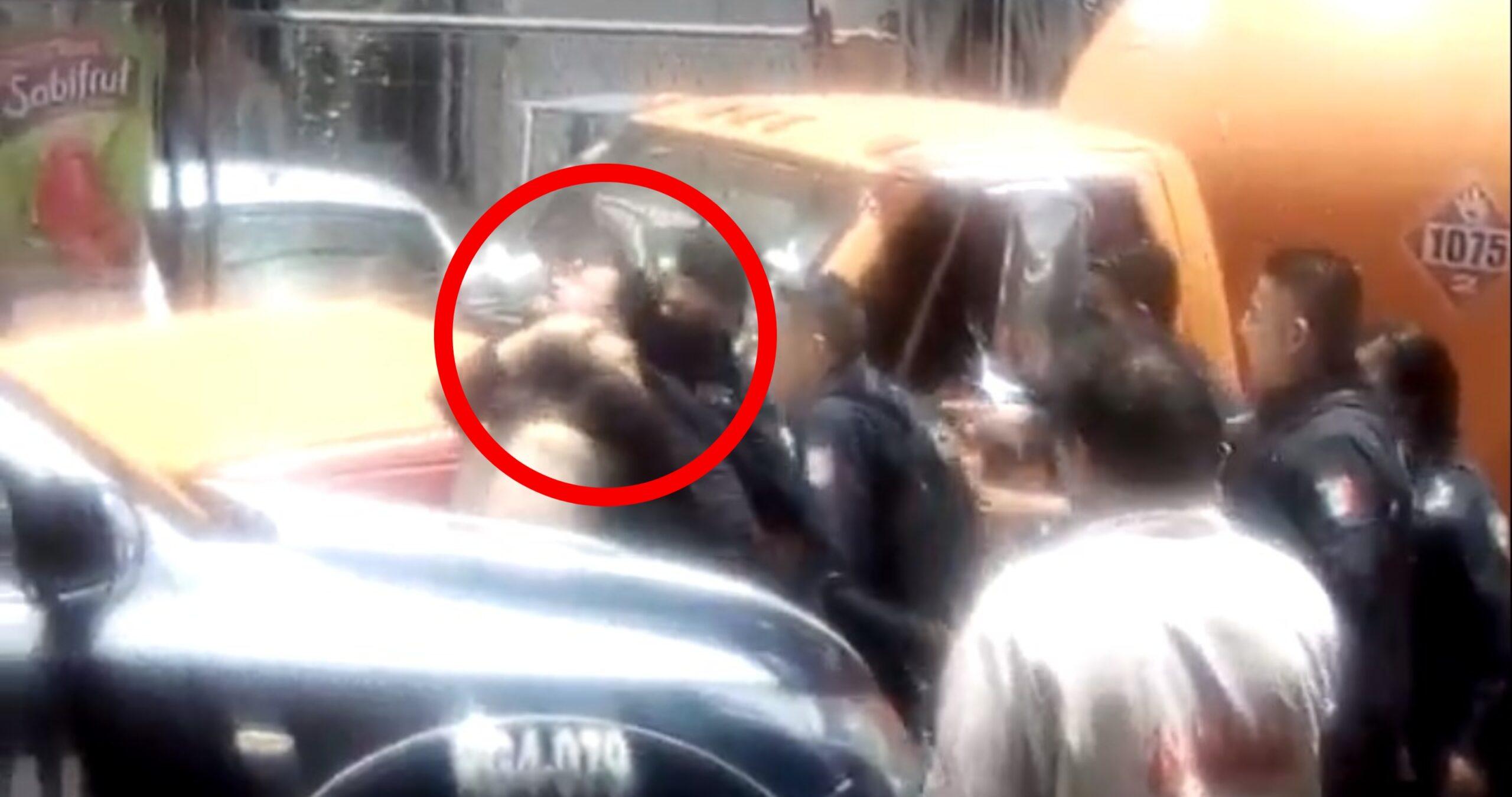 Por grabar abusos policiales en Ecatepec detienen a reportero
