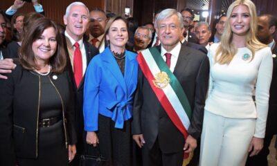 Ivanka Trump da la bienvenida a AMLO a Estados Unidos