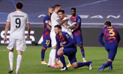 Bayern Munich golea con 8 tantos al Barcelona
