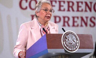 Ante AMLO, Sánchez-Cordero sale en defensa de SIPINNA