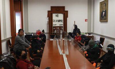Rosario Ibarra acepta pliego petitorio de quienes tomaron la CNDH