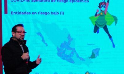 Campeche; el primer estado en semáforo verde de Covid-19
