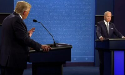 Debate presidencial Trump Joe Biden