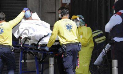 España reporta 8 mil contagios por Covid-19 en 24 horas