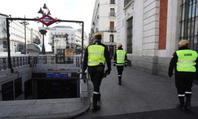 España desplegará fuerzas de seguridad como medida contra el Covid-19
