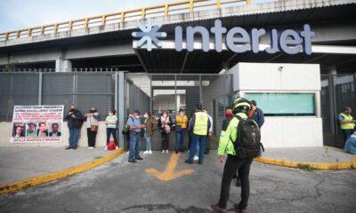 Ex empleados de Interjet aún reclaman pagos por liquidación