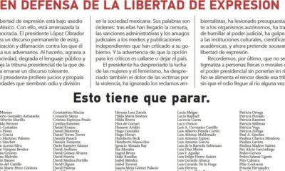 """Dos personas se deslindan del documento """"En Defensa de la Libertad de Expresión"""". La investigadora por la UNAM y el artista de cerámica Patricia Ramírez Kuri y Gustavo Pérez señalan que la carta se firmó sin su consentimiento."""