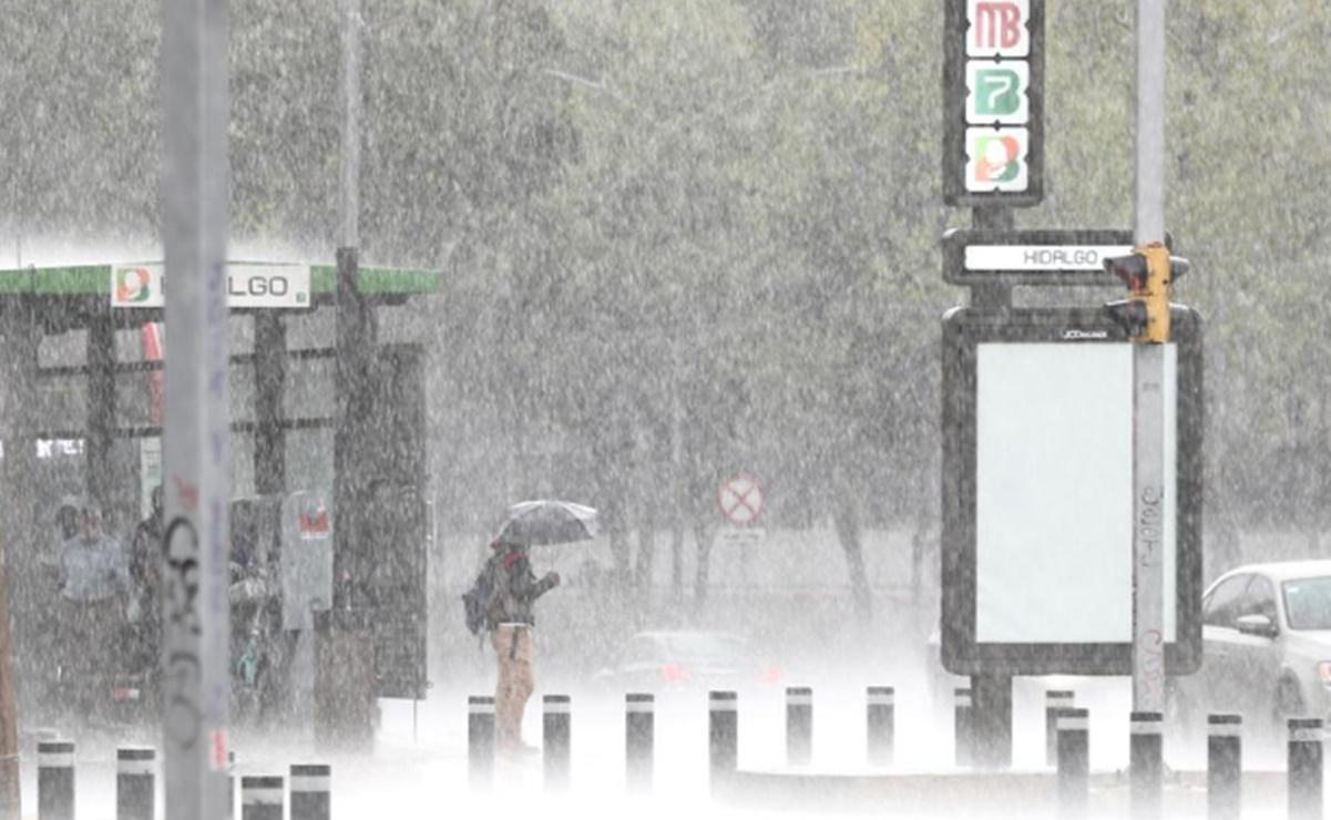 Conagua pronostica lluvias y llegada del frente frío 4 al territorio mexicano