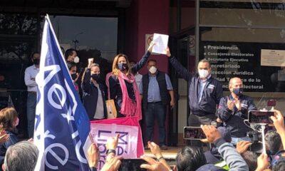 Calderón y Zavala entregan al INE impugnación por México Libre