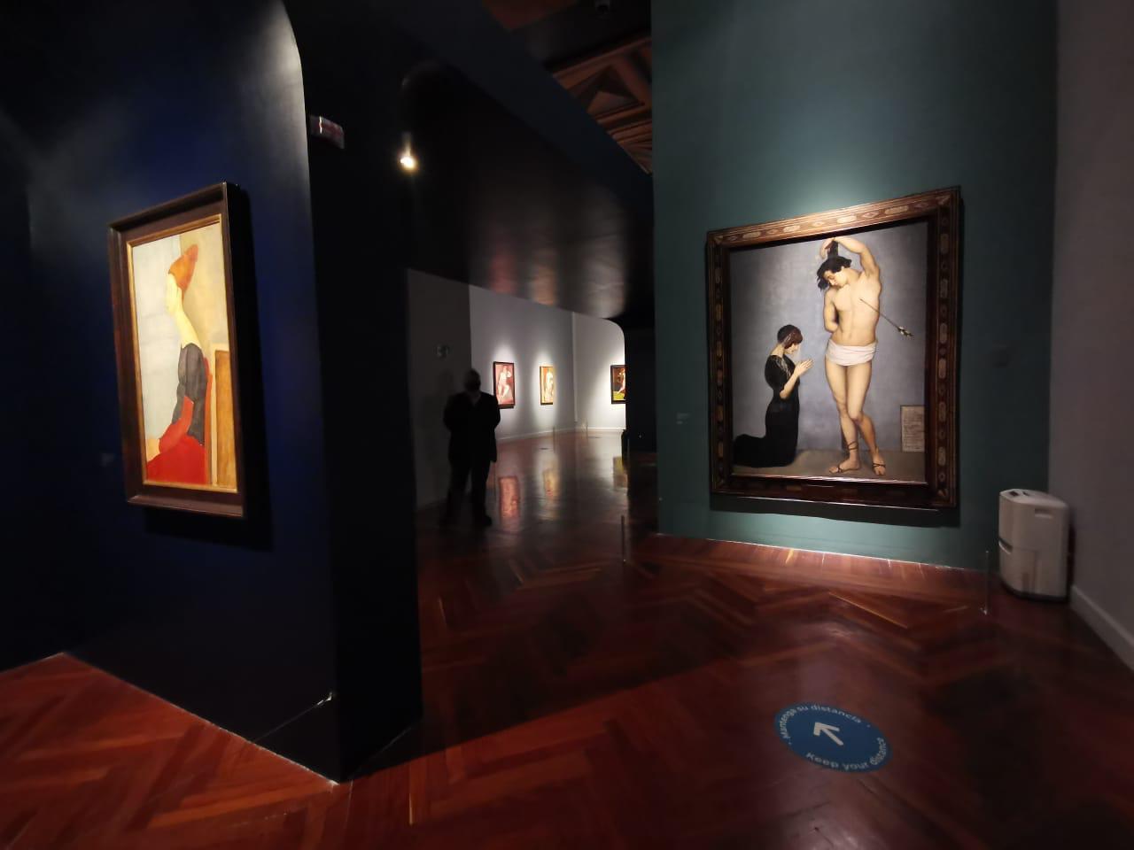 Modigliani y sus contemporáneos dejan cuarentena de 6 meses en Bellas Artes