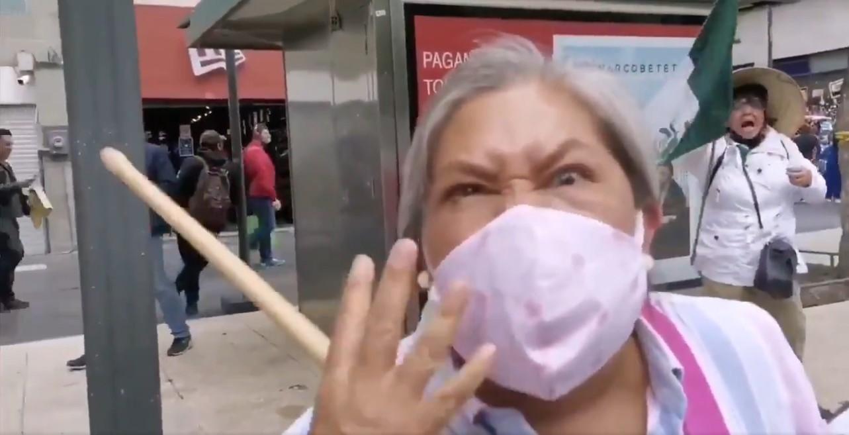 El odio, entre las motivaciones de manifestaciones contra López Obrador