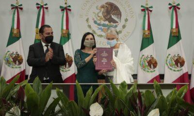 Entrega Sánchez Cordero segundo informe de gobierno al Congreso