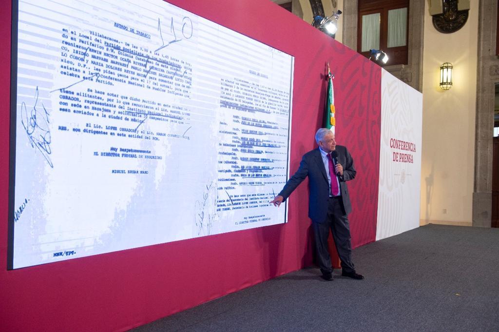 AMLO dice que no es novedad espionaje político durante gobierno de Mancera
