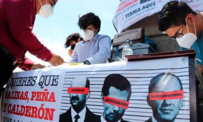 INE recibe firmas recabadas para consulta sobre juicio a expresidentes