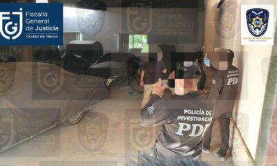 Fiscalías catean casa de Raymundo Collins en Morelos y aseguran 41 vehículos
