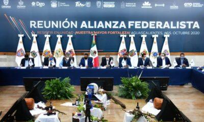 Coahuila, Aguascalientes, Guanajuato y Michoacán también van por consultas sobre Pacto Federal