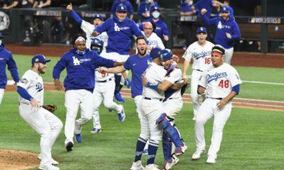 Dodgers ganan la serie mundial con destacada actuación de Julio Urías