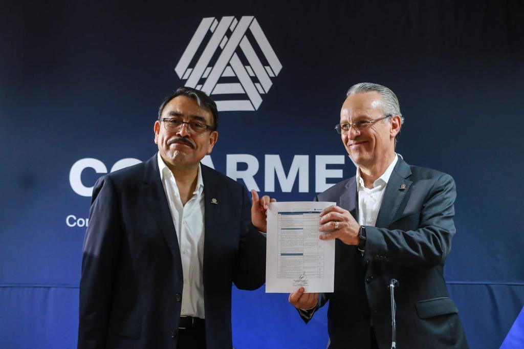 Gustavo de Hoyos dejará Coparmex en manos de hermano de Medina Mora en diciembre