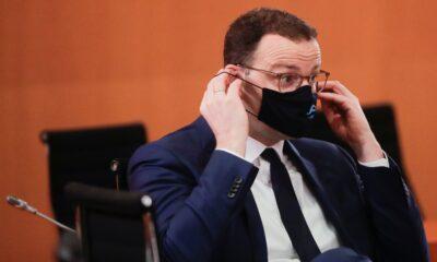 Ministro de Salud alemán da positivo a Covid-19
