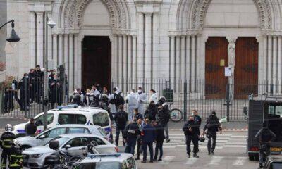 Atentado en Niza, Francia, deja 3 muertos con arma blanca