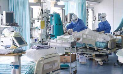 Países de Europa alcanzan cifras récord de hospitalización