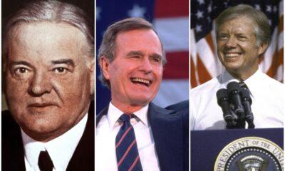 Presidentes de Estados Unidos con un solo mandato