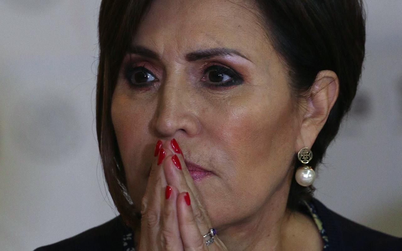 Rosario Robles acepta ser testigo ante la FGR