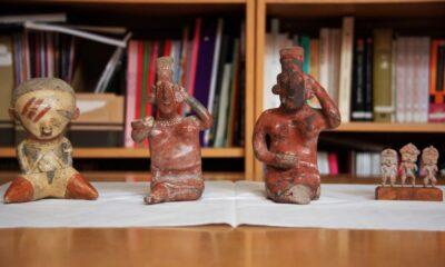 Recupera gobierno cuatro piezas antropológicas, informa la SRE
