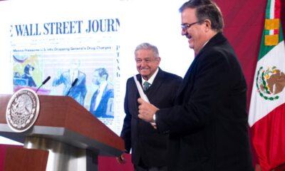 AMLO niega amenaza de expulsar a agencias estadounidenses si no se repatriaba a Cienfuegos