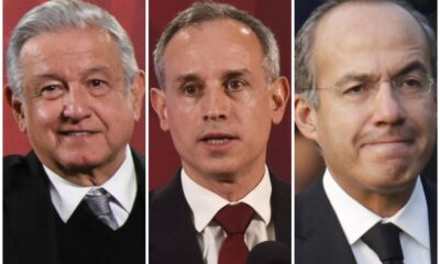 AMLO, López-Gatell y Felipe Calderón los más mencionados en Twitter en 2020