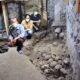 Arqueólogos encuentran torre de cráneos precolombina en la CDMX