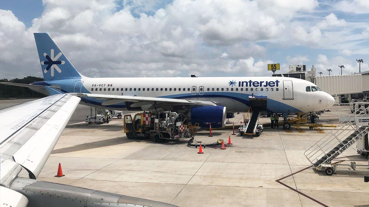 Interjet suma 5 días sin volar; falta de pago de turbosina, la causa