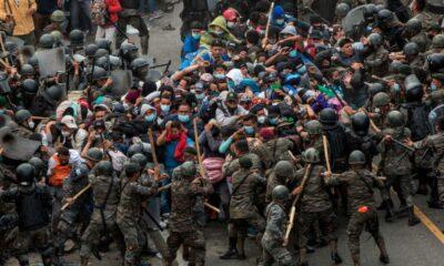 DDHH de Guatemala rechaza uso de la fuerza contra migrantes