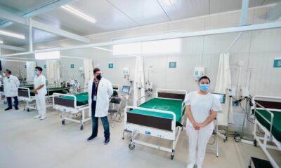 IMSS inaugura centro de atención temporal de Covid-19 en Lindavista