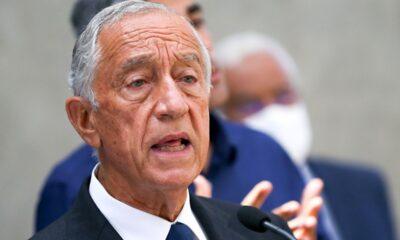 Da positivo a Covid-19 presidente de Portugal