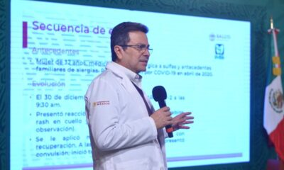 Doctora que presentó alergia a vacuna Covid-19 sigue hospitalizada pero mejorando