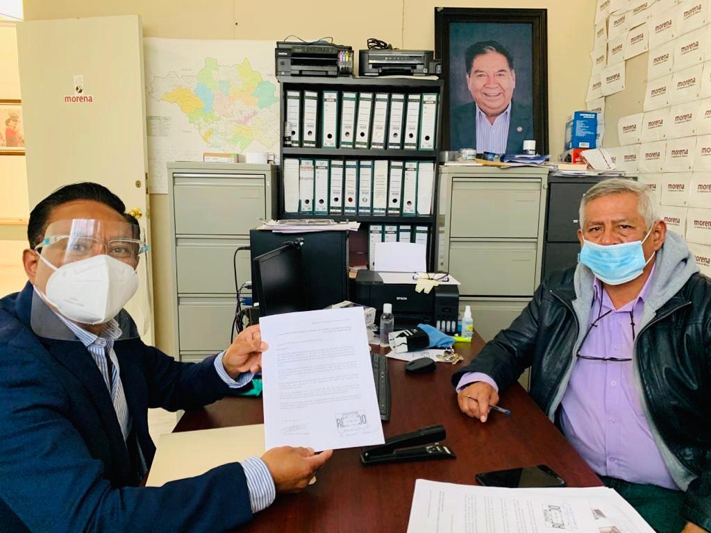 Jorge Alfredo Corichi busca candidatura de Morena a presidente municipal de Tlaxcala