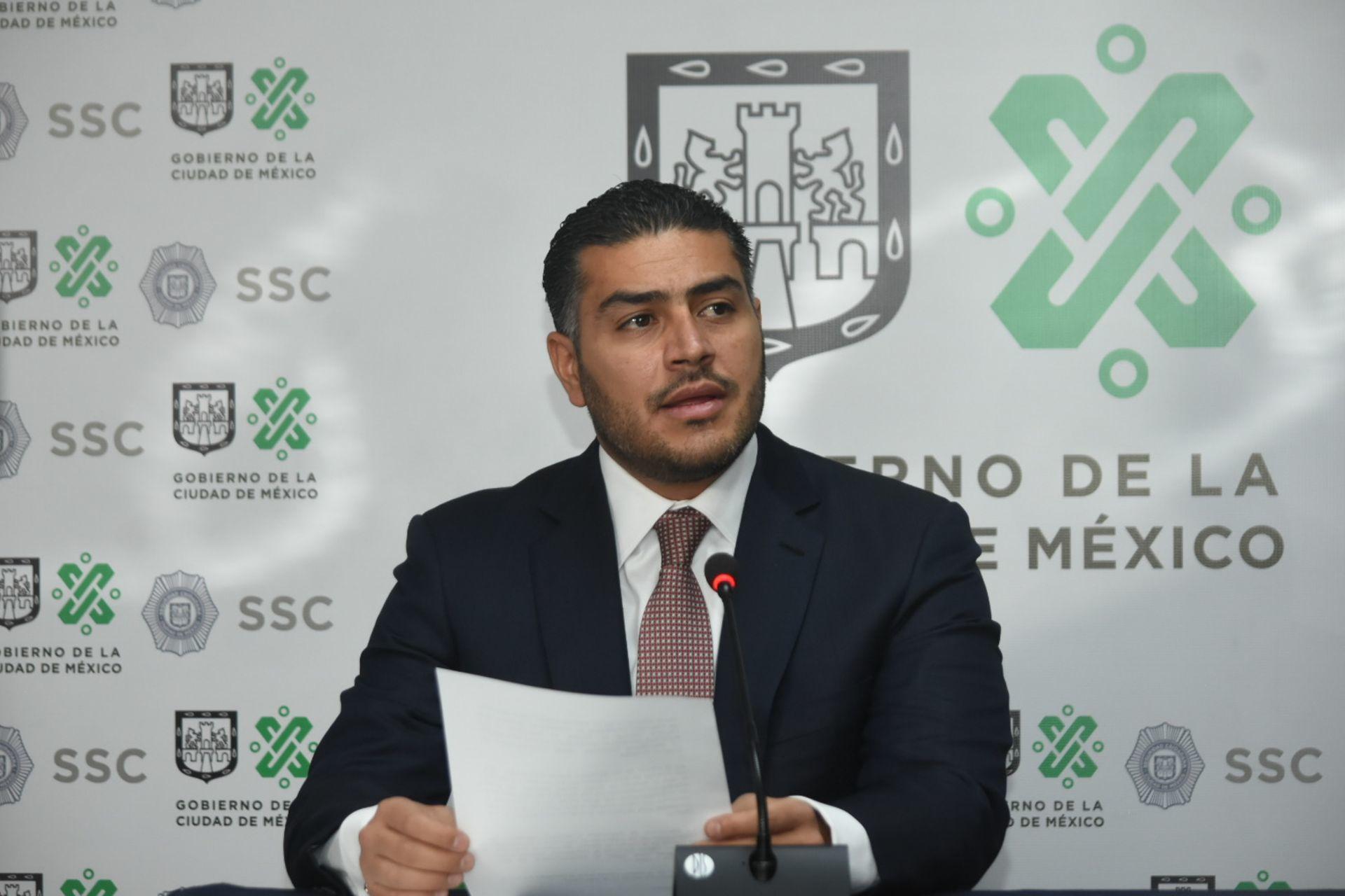 CDMX busca reducir incidencia de 5 delitos para este 2021