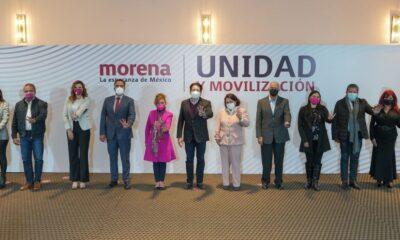 Lista la caballada de Morena para la renovación de gubernaturas