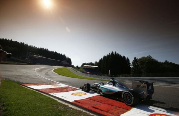 Hamilton foi superlativo na conquista da pole em Spa-Francorchamps - Sutton Images
