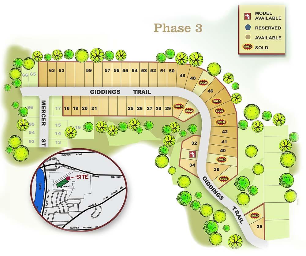 High Meadows Map