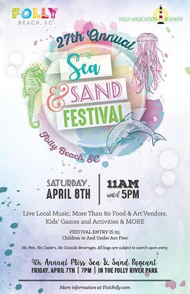 Sea & Sand Festival Poster